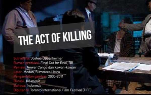 """Jagal : The Act of Killing"", Film Sampah Tentang Pembantaian Komunis di Kota Medan"
